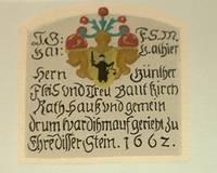 Inschrift von 1662