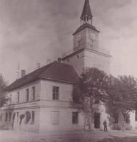 Rathaus Anfang des 20. Jahrhunderts [(c) Stadt Hohenmölsen]