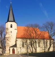 Kirchturm der Stadtkirche St. Peter
