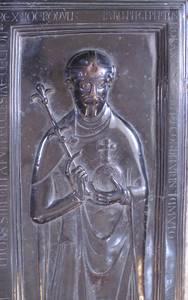 Grabplatte Rudolf von Rheinfelden [(c) Wikipedia]
