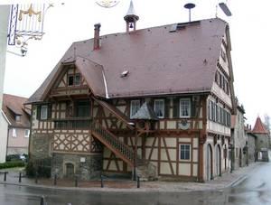 Historisches Rathaus in Bad Friedrichshall