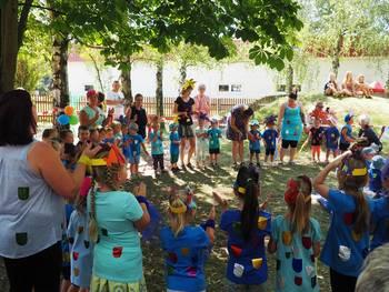 Bunter Regenbogenfisch - zum Sommerfest